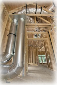 duct work in new construction
